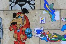 Street Art à Puteaux / Chaque année, la Ville de Puteaux devient une galerie à ciel ouvert et invite des artistes français de street art à l'occasion du festival Rue stick.