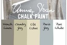 DIY Chalk Paint - and painted furniture! / chalk paint is so easy to use and really updates old furniture! !