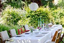 Gartenfeste / Gartenparty - Picknick - Empfang - wunderschöne Gärten für Events