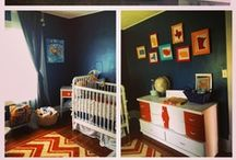 Baby: Little Traveler Nursery Ideas / by Alika Faythe Despres Photography