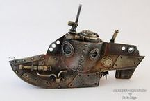 Art - Steampunk Art / #Steampunk #SteampunkArt / by Bent Whims Studio