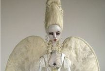 Art Dolls / #ArtDolls #Sculptures #Sculpts #OOAK  / by Bent Whims Studio