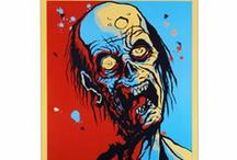 Zombies / #Zombies #WalkingDead #Undead #Apocalypse  / by Bent Whims Studio
