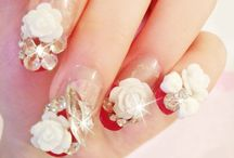 ~Nails~Nails~N~Nails~ / Who thought of these fantastically glamorous designs? What helpful tips to add to this Board!! / by Sheena Archer