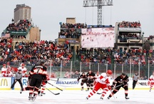 Winter Classic flashbacks / Scenes from the NHL's New Year's outdoor events, featuring the likes of Sidney Crosby, Alex Ovechkin and Pavel Datsyuk. / by CBC Sports