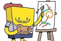 Pacco d'Artista 2013 / Poste Italiane e Spirito Due hanno selezionato sei artisti per personalizzare lo storico pacco giallo.  Partecipa al concorso e vota il pacco che preferisci. Puoi vincere una Brompton.