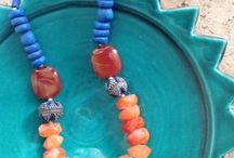 My Beady Babies / Beads in my collection & jewelry I made.