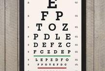 Eye Chart Prints