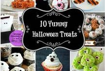 Halloween / Spooky treats, crafts, and more! / by Kelly Moore {Here Comes the Sun}