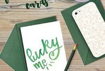 St. Patrick's Day / St. Patrick's Day crafts, recipes and printables