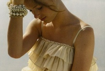 Bows, Ruffles and Pearls - oh my! / by Elizabeth Coe