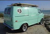 Vintage Van Company / Vinvanco celebrates the art form and customization of vintage vans. Hey, somebody has to do it.