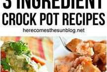 Crock Pot Recipes / This board contains recipes that you can make in a Crock Pot or Slow Cooker.  Dinners, drinks, dips and more.