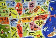 homeschool / geography / by Melinda