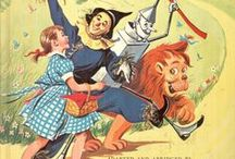 Wonderful Wizard Of Oz / all artwork, objects, collectables, etc. relating to my most favorite story/movie ever!!