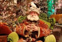 A Very Merry Christmas.. / santas, snowmen, and other jolly winter wonders.....