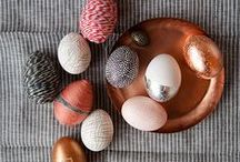 Joyous Easter / toys and decorations related to the spring holiday, bunnies and chicks galore!