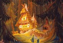 """Hansel and Gretel  / """"Who is nibbling at my house?"""""""