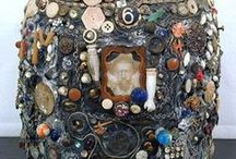 Mosaics and Relief Sculpture / beautiful in three dimensions or more...