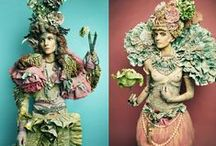 Earth Creatures / maidens of earth and green men