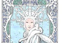 Snow Queen /  the winter goddess