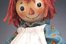 Dolls - Annie and Andy