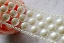New Pearl Trims  / Beautiful new pearl trims for sale now in my boutique.   / by Scrapbooking With ME Boutique