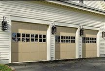 Wood Garage Doors / Wood garage doors complement many architectural styles and designs.  Overhead Door's Traditional Wood garage doors offers homeowners a beautiful wood garage door at an affordable price.