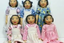 Dolls - Hitty / Pins for Mehitabel from the book Hitty her first hundred years by Rachel Field.