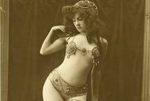 Ziegfeld & ancient girls / Ziegfeld Girls were the chorus girls from Florenz Ziegfeld's theatrical spectaculars known as the Ziegfeld Follies (1907–1931), which were based on the Folies Bergère of Paris.