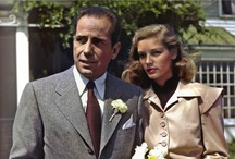 Bogart & Bacall / for more go to boards HUMPHREY BOGART and LAUREN BACALL