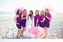Wedding purple