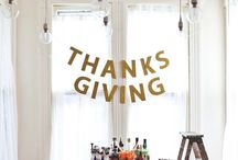 thanksgiving ideas / by Erin Winters