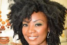 Natural Hair Love / Admiration of Naturalistas / by Valencia Hosey