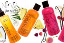 """Fruity Fresh Fragrances! / Featuring Pineapple Sunset and Raspberry Vanilla Velvet along with Green Apple & White Lily, Grapefruit Vanilla, Pomegranate & Blood Orange, and Wild Red Cherry.  """"Be dazzled by a juicy collection of nature's delectable sweets. Fruity fabulous has never felt this good! Fruit Fanatic is a revitalizing, weightless formula infused with conditioning vitamins and our unique antioxidant blend keeps skin feeling refreshed and happy.""""  Shop now: http://myvitabath.com/new-fragrance"""