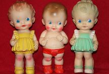 Vintage Rubber Dolls / by Kim Pontiff