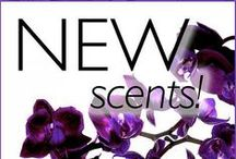 Orchid Intrigue is Our Newest Classic Fragrance / Our first Classic fragrance in 15 years! Orchid Intrigue is an alluring and sensual, fragrance with intense purple blooms and the seductive scent of amber velvet layered with luxurious amethyst orchid, night blooming sambac jasmine, and sugared musk.