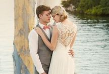 Beach Wedding Dresses / This selection of wedding dresses offers wonderful choices for that destination bride, but could also be that bride looking for simplicity!  / by Raffiné Bridal and Formal Wear
