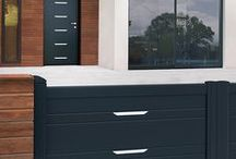 Collection Moderne - Contemporaine & Citadine by K-Line / Nouvelle collection Contemporaine & Citadine, des portes assorties à votre portail aluminium