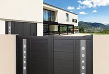 Collection Moderne - Panneaux Design / Découvrez la gamme de portails signature et panneaux design pour portails chez SIB