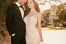 Glamour Wedding Dresses / This collection of wedding gowns is for the bride looking to shine with sparkle! These dresses are all adorned with beading and sequins that will make every bride the center of attention...as they should be! :) / by Raffiné Bridal and Formal Wear