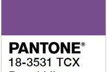 Royal Lilac - couleur tendance automne hiver 2017/2018 - Pantone / Dans le passé, le violet royal était la teinture la plus rare et la chère qu'il pouvait exister. Royal Lilac est une couleur légèrement excentrique, théâtrale qui donne une touche d'enchantement aux autres couleurs Pantone® de cette sélection.