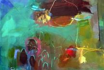 Paintings--Abstract / by Robin Olsen