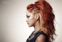 dial for a hairstyle  / by Shai Mercado