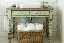 Bathroom inspirations / by Caroline Van Slyke