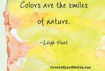 Color. / by CreateMixedMedia