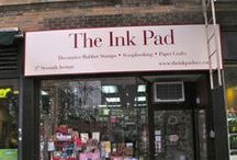 The Ink Pad NYC / Get an insider's look at our shop in the heart of Greenwich Village.