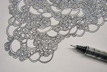 tangles & line art