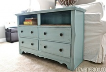 Home & Organization / DIY and organizational projects, as well as home accents and decorations for my home... Someday!