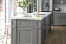 Gray Cabinetry / by Jean Molesworth Kee